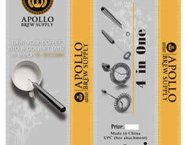 #4 para Create Print and Packaging Designs for Milk Frother Tool por Mazeduljoni