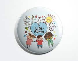 #15 for Fun Cute Childrens Party Pin/Button Design by estiacalam