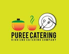 nº 11 pour high end food catering company, called ( Puree ) . -something simple elegant and modern .  - one color only to use ( black, or dark blue, or maroon ).    -your creative ideas are needed i want to see diferent options. par MezbaulHoque