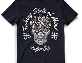 #23 para Design a skull/calavera fishing t-shirt por ratnakar2014