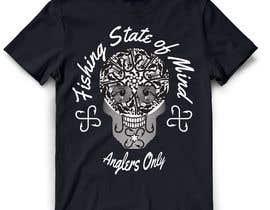 #23 for Design a skull/calavera fishing t-shirt by ratnakar2014