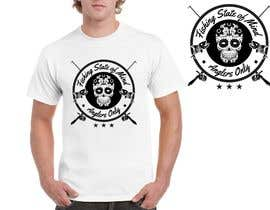 #16 para Design a skull/calavera fishing t-shirt por shrabanty