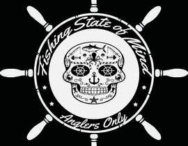 #39 para Design a skull/calavera fishing t-shirt por Angelfcb7