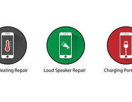 GoldenAnimations tarafından Design some Icons for mobile repair website için no 20