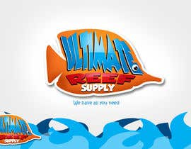 rogeliobello tarafından Logo Design for Ultimate Reef Supply için no 35