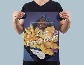 #29 para Design a fish and chip banner de zwarriorx69