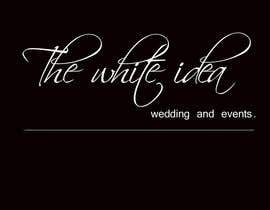 #485 για Logo Design for The White Idea - Wedding and Events από jhilly