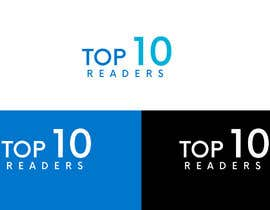 #104 untuk design a logo for TOP 10 READERS oleh JohnDigiTech