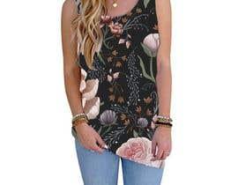 #96 для Design printed floral vest от josepave72