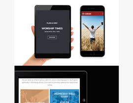 Nro 9 kilpailuun Create Mockup Landing Images of Websites käyttäjältä shazy9design