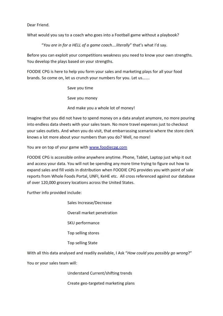 Entry #6 by sipido for Need a professional sales letter   Freelancer