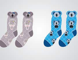 #8 για Design Koala baby Socks *READ INSTRUCTIONS CAREFULLY* από sunilpeter92