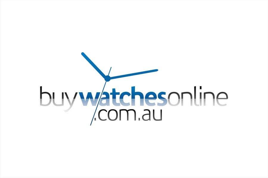 Penyertaan Peraduan #196 untuk Logo Design for www.BuyWatchesOnline.com.au