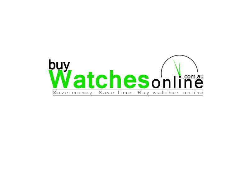 Penyertaan Peraduan #303 untuk Logo Design for www.BuyWatchesOnline.com.au