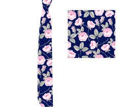 #25 for Need floral design to be printed on cotton fabric/neckties. af eling88