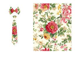 #32 for Need floral design to be printed on cotton fabric/neckties. af Nanthagopal007