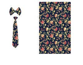#47 for Need floral design to be printed on cotton fabric/neckties. af Nanthagopal007