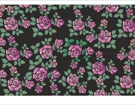 #27 for Need floral design to be printed on cotton fabric/neckties. af narvekarnetra02