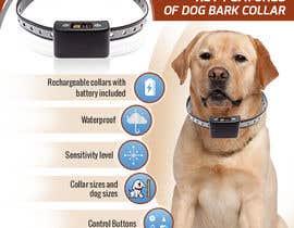 Nro 13 kilpailuun Infographic Images for a Dog Bark Collar on Amazon käyttäjältä aindrila1985