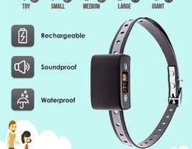 Nro 3 kilpailuun Infographic Images for a Dog Bark Collar on Amazon käyttäjältä areverence