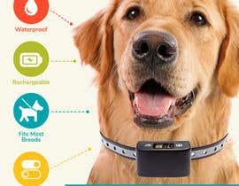 Nro 10 kilpailuun Infographic Images for a Dog Bark Collar on Amazon käyttäjältä Anedb91