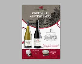 #60 for Design a Flyer for Corporate Wine Gift Packs by Omstart