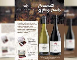 #57 for Design a Flyer for Corporate Wine Gift Packs by colorgraph