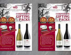 #56 for Design a Flyer for Corporate Wine Gift Packs by gkhaus