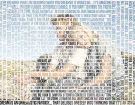 #36 for Art Picture Made Up Of Quotes by eliaselhadi