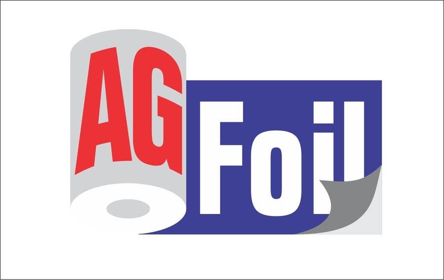 Kilpailutyö #65 kilpailussa Logo Design for AG FOIL
