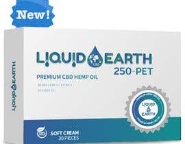 #13 untuk I need a mockup of our product line with our label added to each item, which includes our logo (Liquid Earth CBD) and a discription on the bottles and boxes. Logo will be provided for you. There are about 5 products id like displayed in the picture. oleh eaumart