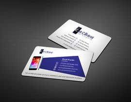 #71 untuk Need business cards template for mobile cell phone/computer repair/ pawn shop store oleh paul7482