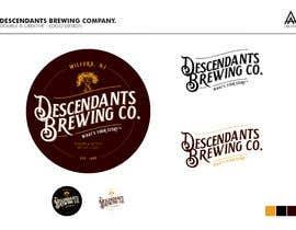#115 dla Descendants Brewing Company Logo przez DoubleACreative