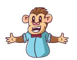 #12 for Original Cute Chubby Monkey af crunchymoon