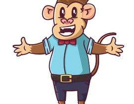 #24 for Original Cute Chubby Monkey af crunchymoon