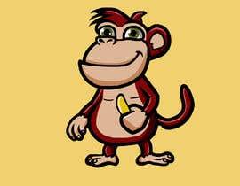 #21 for Original Cute Chubby Monkey af ibrahimkaldk