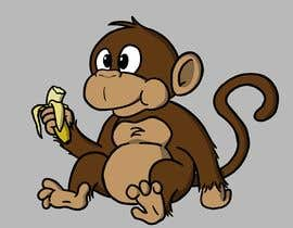 #47 for Original Cute Chubby Monkey af Renan108