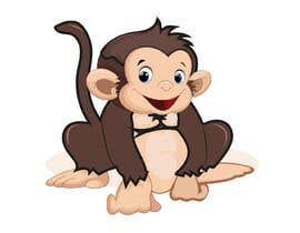 #59 for Original Cute Chubby Monkey af mariamsadia09