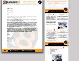 Nro 34 kilpailuun Brochure For Collabor8 käyttäjältä zmdes