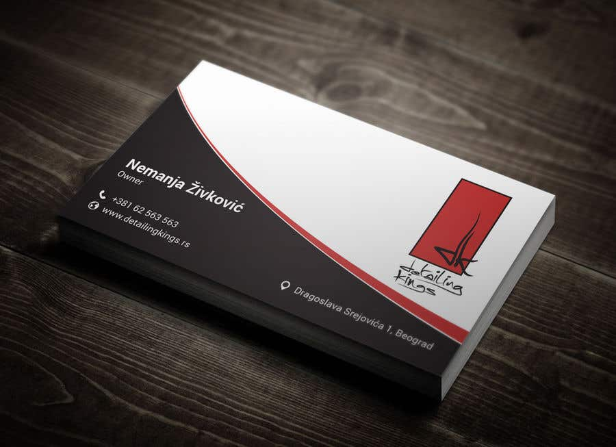 Contest Entry #197 for Design a Business Card for car detailing business