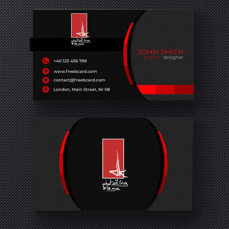 contest entry 638 for design a business card for car detailing business - Car Detailing Business Cards
