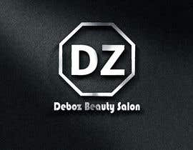 #17 para logo design for a beauty salon,with the letters DZ and underneath in small written Deboz beauty salon should have something that refers to nails colours of  letters should be gold/silver and background black mat  No circels or squares around the logo de AngelinaPriya