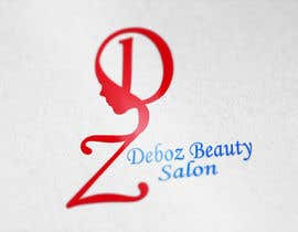 #25 para logo design for a beauty salon,with the letters DZ and underneath in small written Deboz beauty salon should have something that refers to nails colours of  letters should be gold/silver and background black mat  No circels or squares around the logo de AngelinaPriya