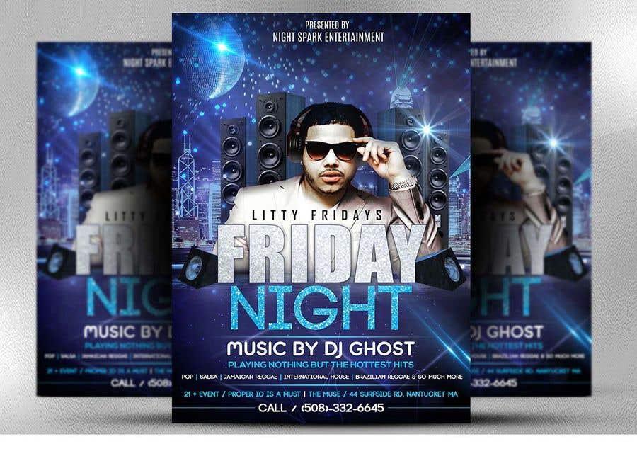 Entri Kontes #133 untukDesign a Night Club Flyer