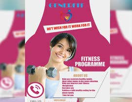 #15 for Promotional flyer for a fitness programme by rakib2375