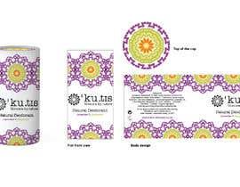 #5 pentru Natural Deodorant label design de către eling88
