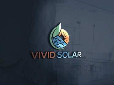 Image de                             logo design (Vivid Solar)