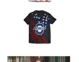 #13 cho Stars & Stripe Tee Shirt Design matching picture bởi JubairAhamed1