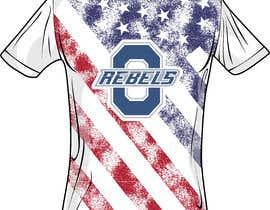 #18 cho Stars & Stripe Tee Shirt Design matching picture bởi VMarian