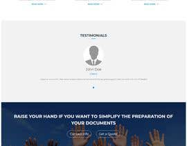 #26 για Landing Page for Legal Website (selling to lawyers) από subhankar666